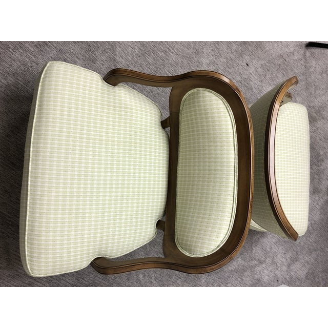 Mid 20th Century Grosfeld House Inspired Bedroom Chairs - a Pair For Sale - Image 5 of 11