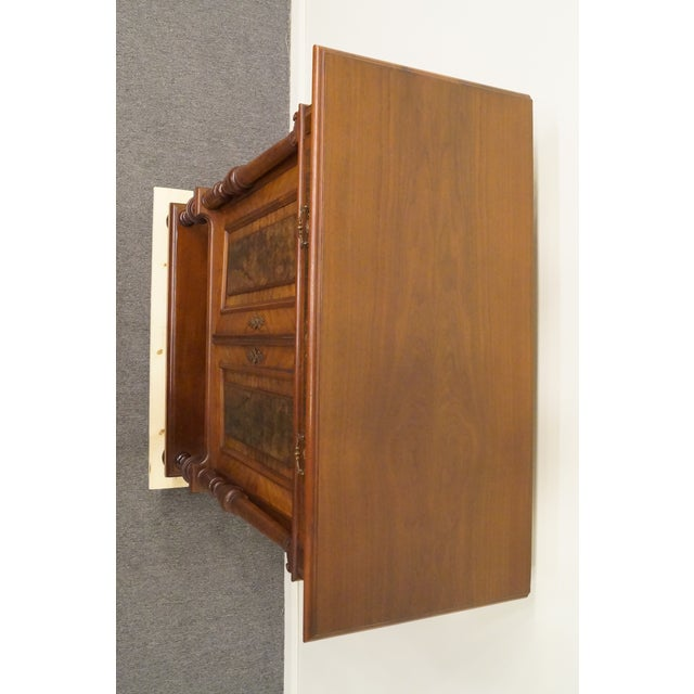 20th Century Traditional Burl Walnut and Mahogany Court Cupboard For Sale - Image 4 of 12