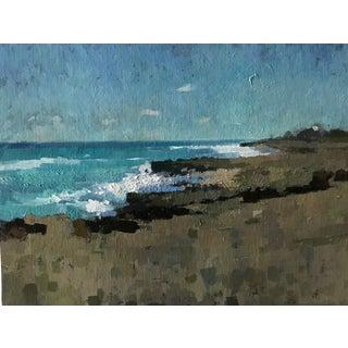 "Pöyhönen Contemporary Framed Seascape ""Treasure Coast"" For Sale"