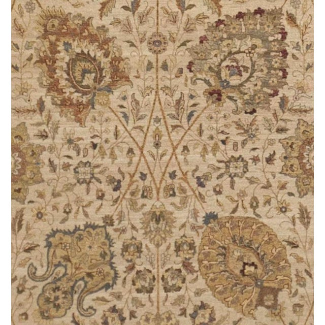 Hand Knotted Indo-Persian Rug, Limited Edition -- 10'x 14' For Sale In Los Angeles - Image 6 of 6