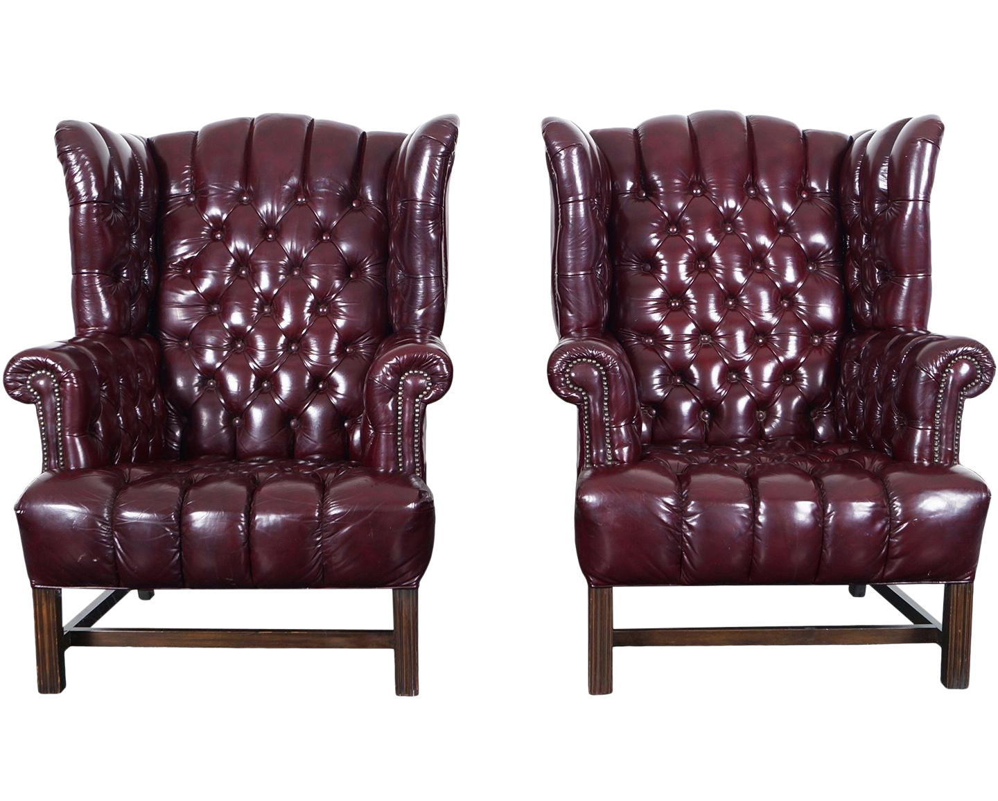 - Vintage & Used Leather Club Chairs Chairish