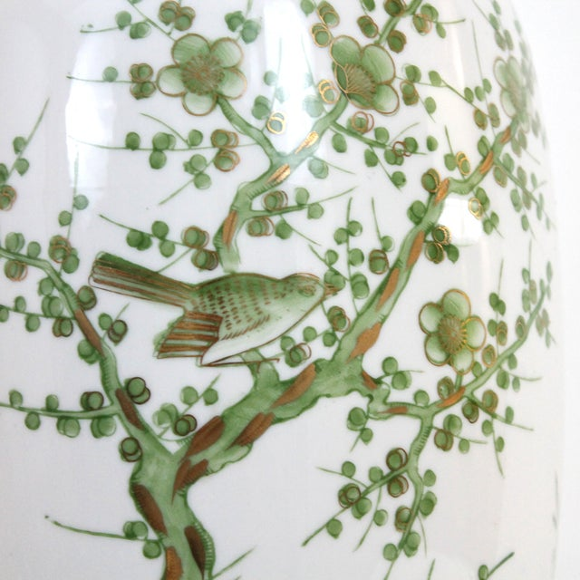 Overscale Vintage Japanese Porcelain Lamp - Image 8 of 10