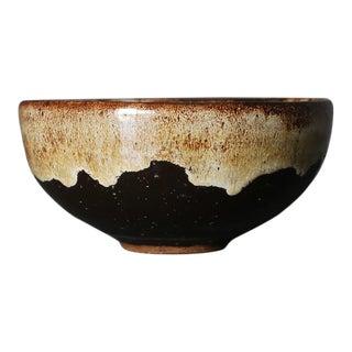 Edna Arnow Ceramic Bowl, Circa 1955 For Sale