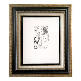 Pablo Picasso Lithograph For Sale