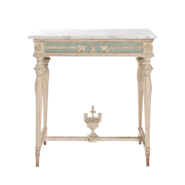 Early 19th Century Swedish Empire Console For Sale