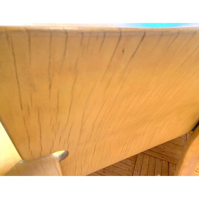 Wood 1960s Italian Modern Double Seat Bench For Sale - Image 7 of 11