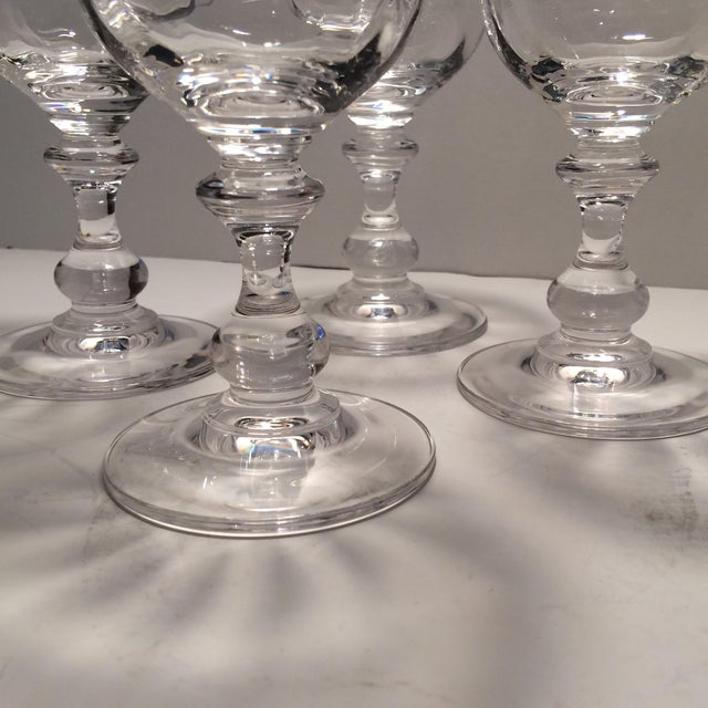 "Vintage Crystal Mikasa ""French Country"" Water Goblets - S/4 - Image 9 of 11"