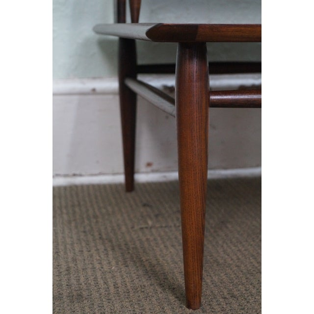 Bassett Mid Century Modern 2 Tier Step End Tables - a Pair For Sale - Image 9 of 10