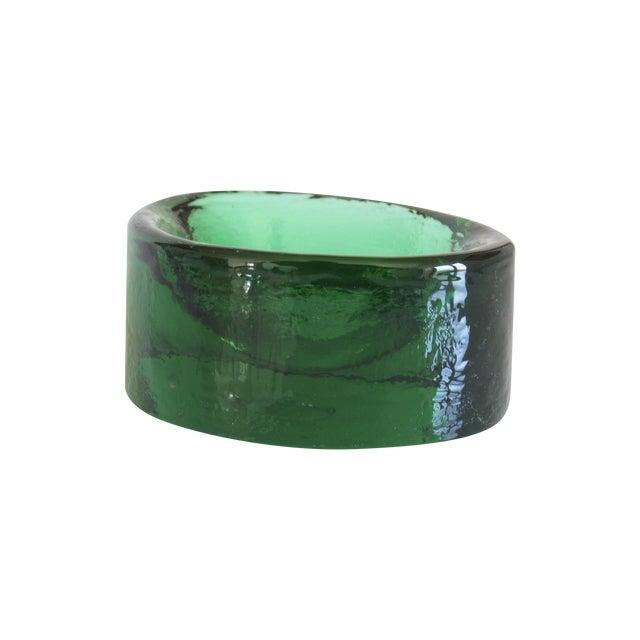 V. Nason & C. Emerald Murano Glass Paper Weight - Image 1 of 5