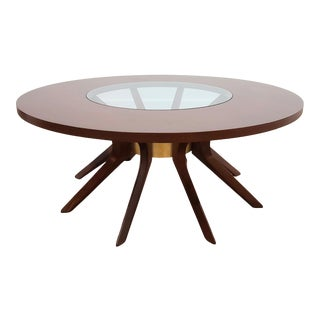 """Restored Broyhill Brasilia """"Cathedral"""" Coffee Table For Sale"""