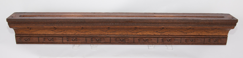 Large Antique French Carved Walnut Shelf \u0026 Plate Rack - Image 2 ...  sc 1 st  Chairish & Large Antique French Carved Walnut Shelf \u0026 Plate Rack   Chairish
