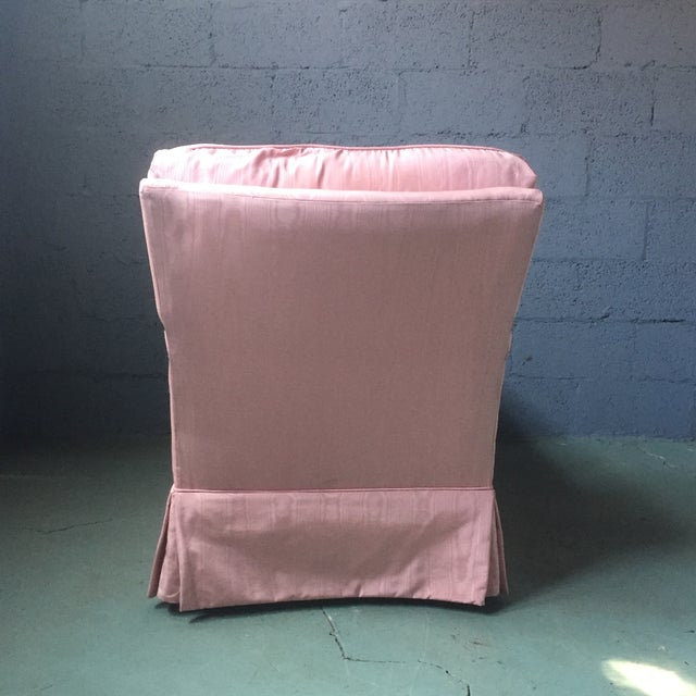 Vintage Pink Chaise Lounge - Image 10 of 11