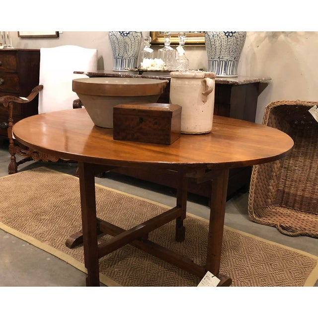 Late 19th Century Antique French Wine Tasting Table For Sale - Image 9 of 9