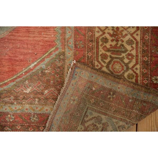 """Vintage Distressed Malayer Rug - 5' X 7'7"""" For Sale In New York - Image 6 of 13"""