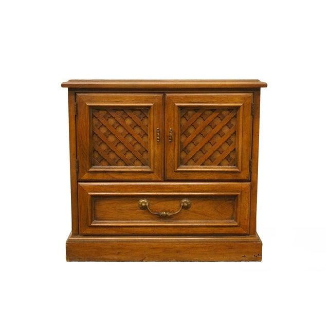 "Drexel Esperanto Collection Spanish Mediterranean 26"" Cabinet Nightstand 401-620 For Sale - Image 13 of 13"