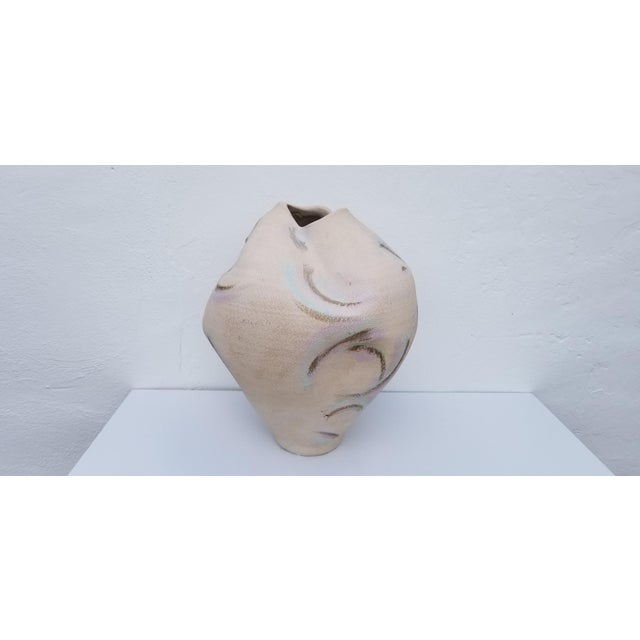 1980s Overscaled Artistic Studio Pottery For Sale - Image 4 of 12