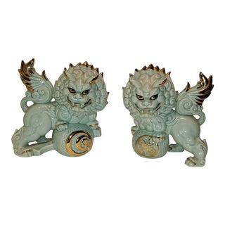 Yoshimi K Vintage Shi Shi Foo Lions - a Pair For Sale