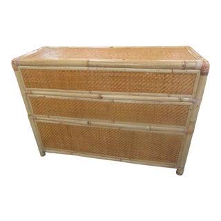 Tropical Woven Bamboo Tiki Bar