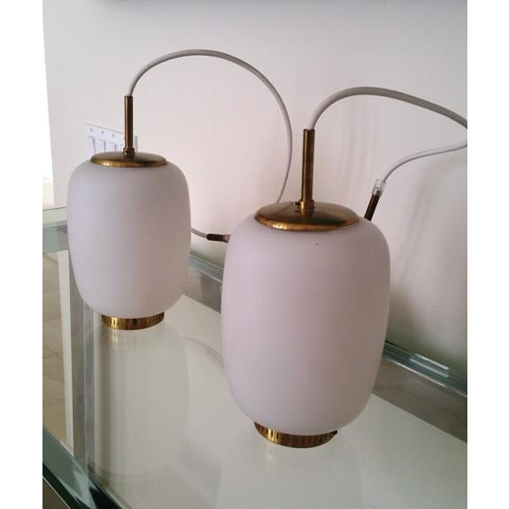 Bent Karlby China-Lamps - A Pair - Image 2 of 5