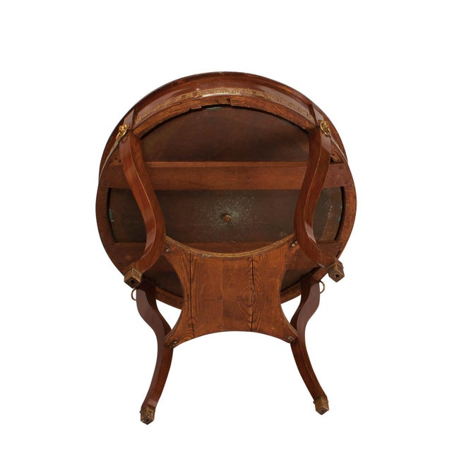 Gold 19th Century Russian Mahogany Wine Cooler Jardiniere For Sale - Image 8 of 10