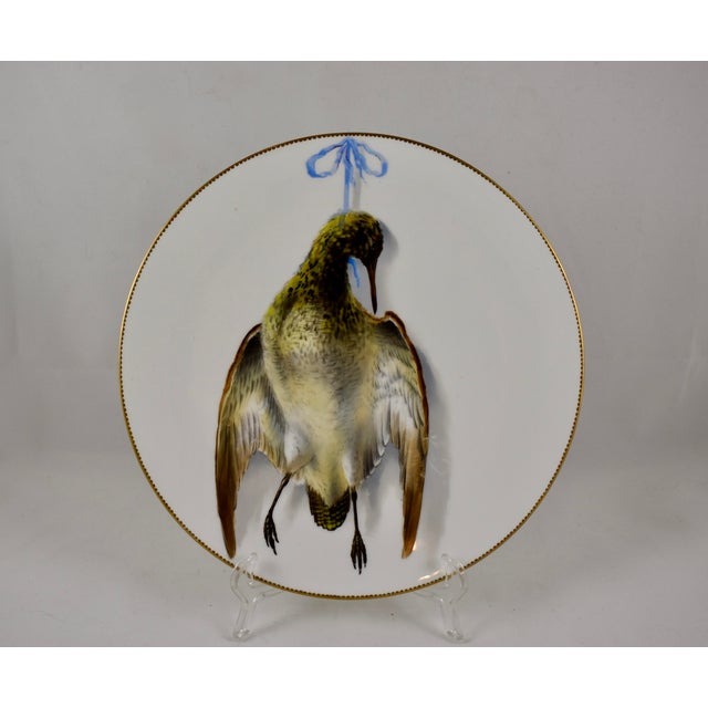19th C. Bodley Staffordshire Dead Game Plate, the Snipe For Sale - Image 13 of 13
