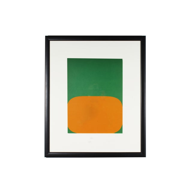 "1964 Ellsworth Kelly Lithograph From ""Derriere Le Miroir,"" No. 164 For Sale In Indianapolis - Image 6 of 6"