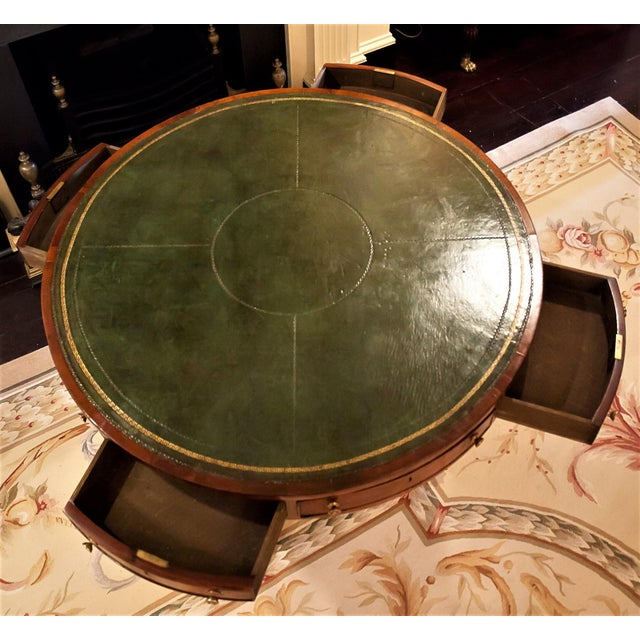 Regency Drum/Rent Table, England Circa 1815 For Sale - Image 4 of 13
