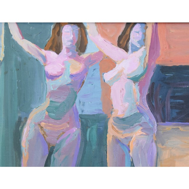 Modern Ray Cuevas, Plein Air Oil Painting Female Nudes For Sale - Image 4 of 10