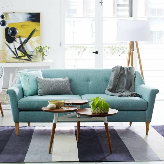 West Elm Finn Couch - Image 8 of 8