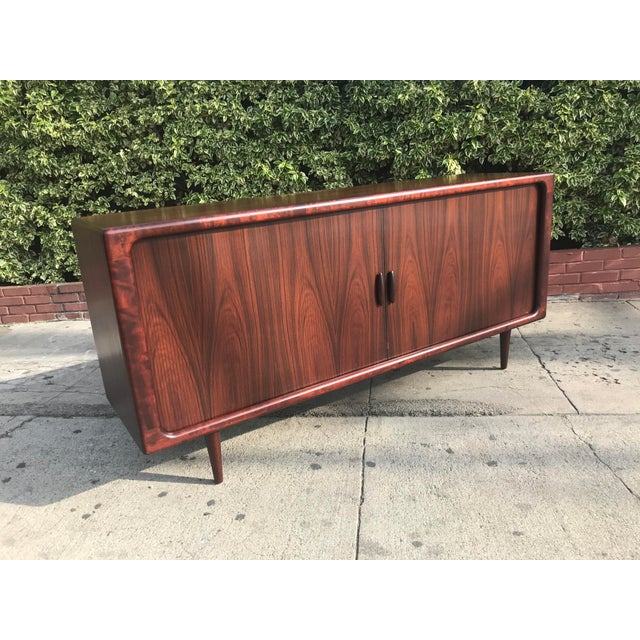Dyrlund Mid-Century Rosewood Credenza For Sale - Image 10 of 11