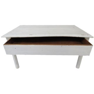 1930s Antique Coffee Table For Sale