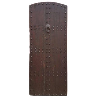 Old Rabat Dark Tan Moroccan Door
