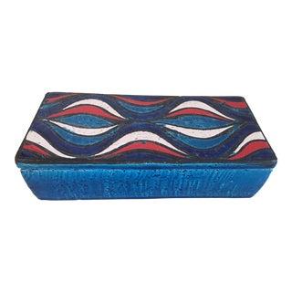 1960s Vintage Rosenthal Netter Italian Lidded Ceramic Box For Sale