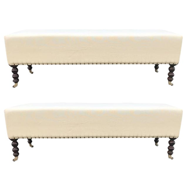 Two George Smith Benches For Sale
