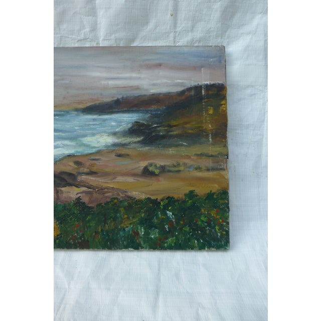 George St. Pierre Ocean View Signed Painting For Sale - Image 4 of 7