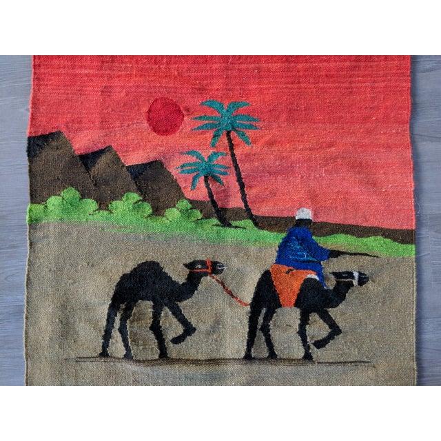 "Egyptian Revival Egyptian Handmade Rug - 2'8"" x 3'8"" For Sale - Image 3 of 4"