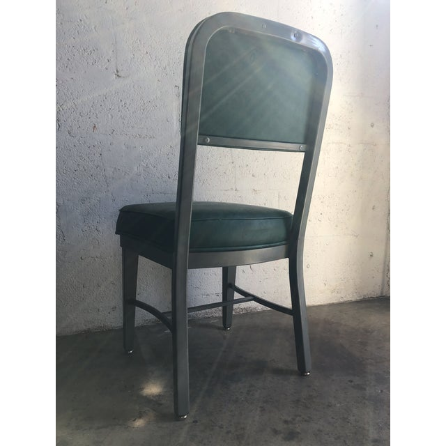 Vintage Office Industrial Chairs by Techfab Furniture Missouri (A Pair) For Sale - Image 9 of 13
