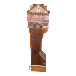 Wonderful Newel Post Great for a Floor Light For Sale