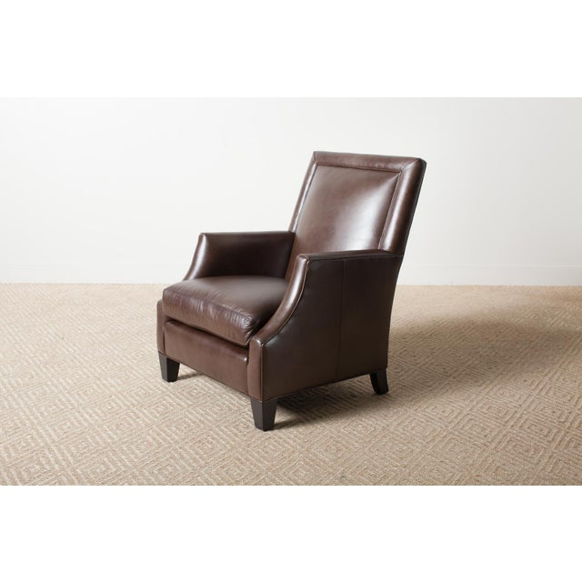 Remy Leather Armchair For Sale - Image 6 of 6