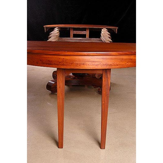 Brown & Simonds Antique Mahogany Dining Table For Sale - Image 5 of 5