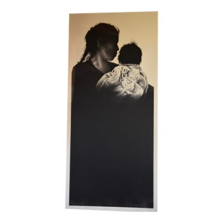 Annette Morris Lithograph 'Madre Y Niña', 1986 For Sale