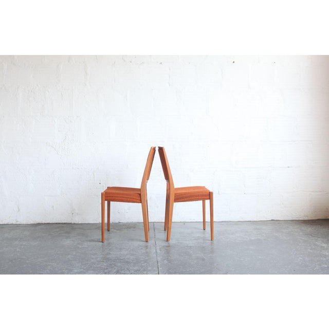 1960s 1960s Mid-Century Modern Teak Dining Chairs - Set of 8 For Sale - Image 5 of 6