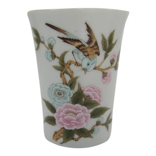 Vintage Chinoiserie Pencil Cup For Sale