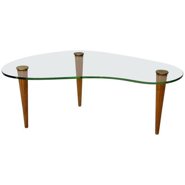 Gilbert Rohde Style Art Deco Floating Glass Cloud Coffee Table - Image 5 of 5