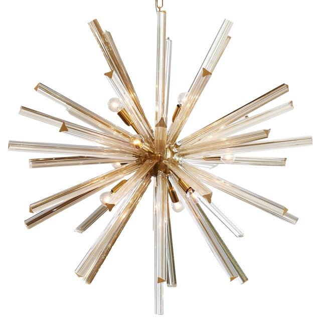 Customizable Italian Murano Glass Sputnik Chandelier For Sale