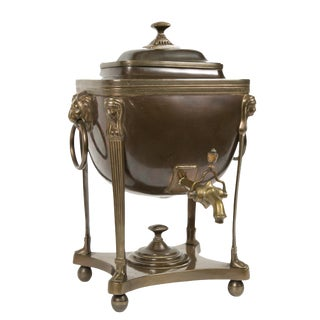 Early 19th Century Antique Neoclassical Samovar For Sale
