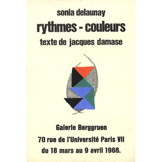 """""""Rythmes - Couleurs"""" by Sonia Delaunay, Serigraph 1966 For Sale"""