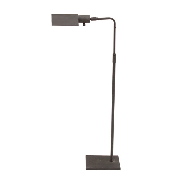 Grey Coated Pharmacy Reading Lamp by Koch + Lowy For Sale - Image 10 of 10