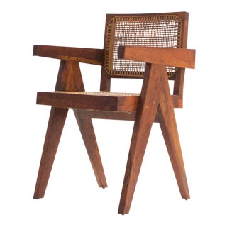 Pierre Jeanneret Teak Conference Chair From Chandigarh, India, C. 1952 - 1956 For Sale