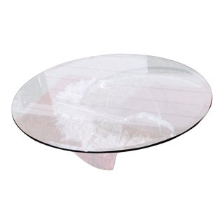 1960s Mid-Century Modern Knut Hesterberg Ronald Schmidt Lucite Propeller CoffeeTable For Sale